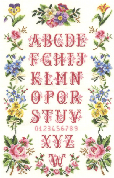 Bunches Sampler Cross Stitch Kit
